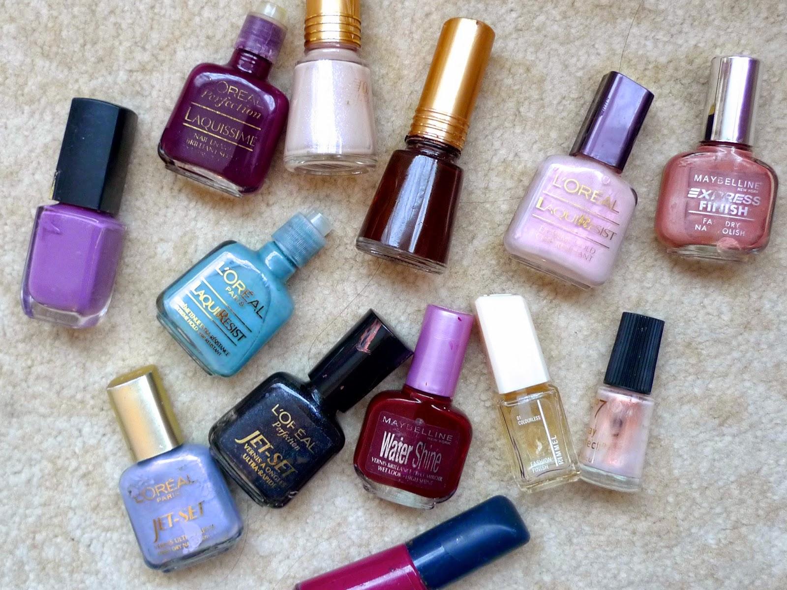 Nail Polish Colors for Teenagers