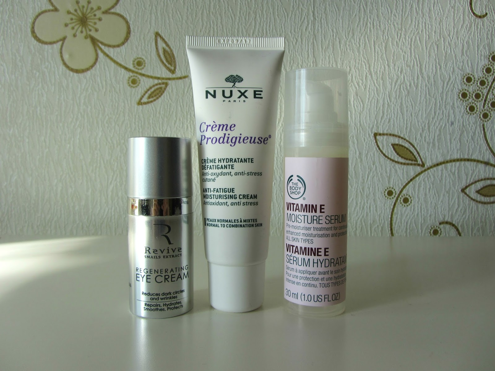 NUXE ANTI FATIGUE MOISTURIZING EYE CREAM