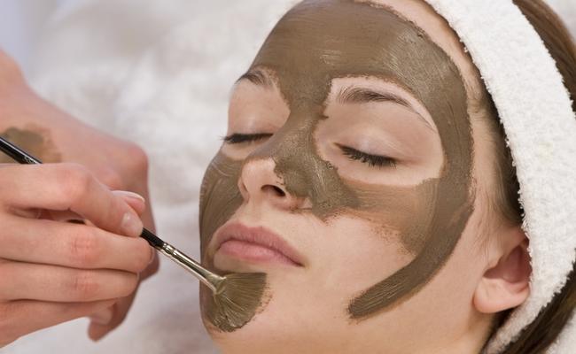 Apply Dead Sea Mud Mask